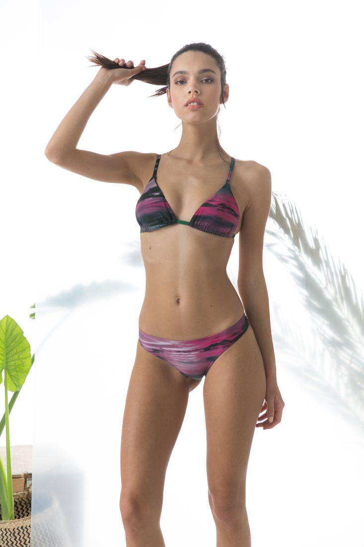 d0248f4dd9b Bikini σλιπ εμπριμέ με εσωτερικές ραφές - Cocomo